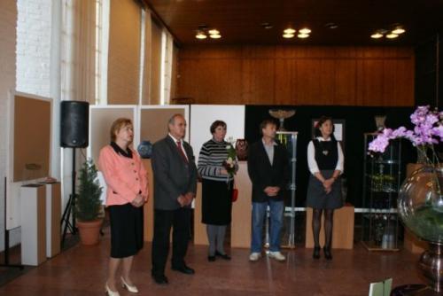 2011. május 13. - Hamza Zsóka és Takács kristály kiállítása