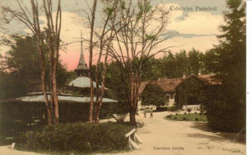Parádsasvári helytörténeti képek, képeslapok